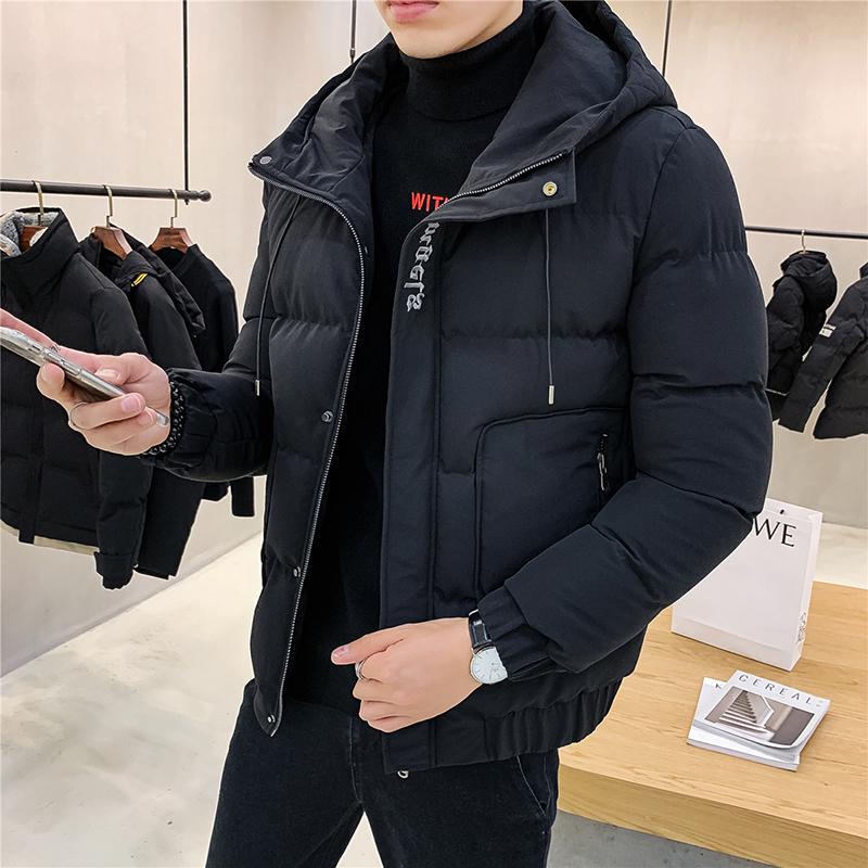 劲贵棉衣男士外套2020新款冬季衣服韩版潮流面包棉服冬天男装加厚