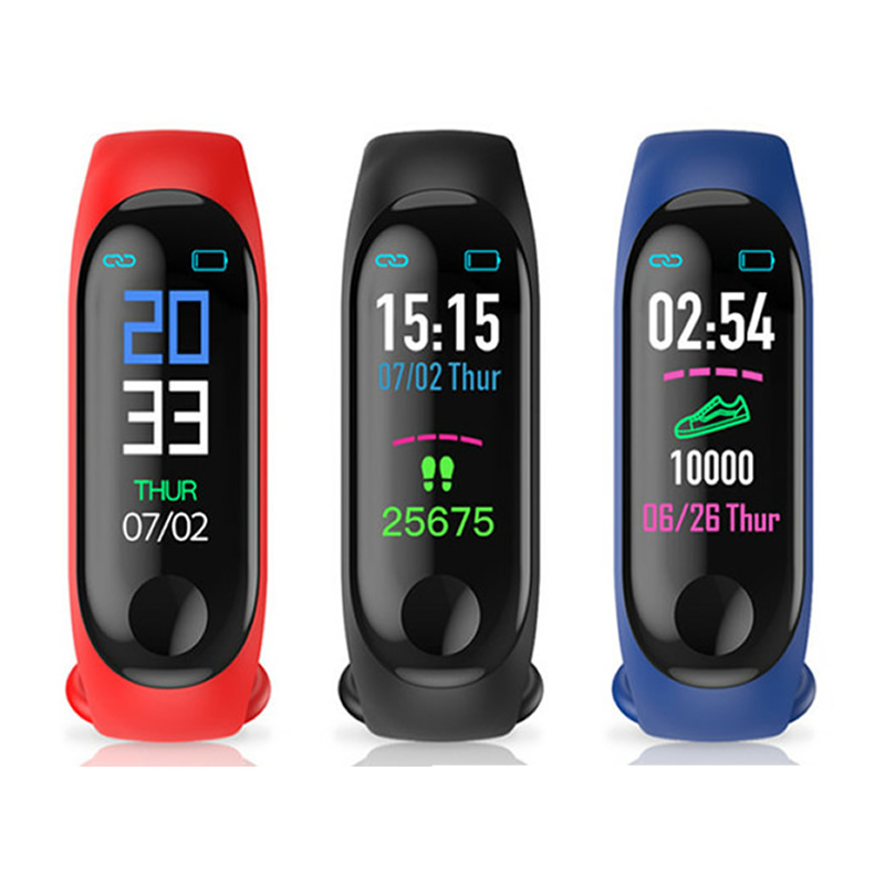 智能手环运动蓝牙防水心率血压男女防水多功能计步器测血压记跑步通用彩屏适用于小米苹果oppo华为手机
