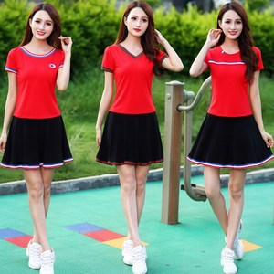 Square dance clothing new suit summer and autumn sports casual dress two-piece dance performance dance clothes