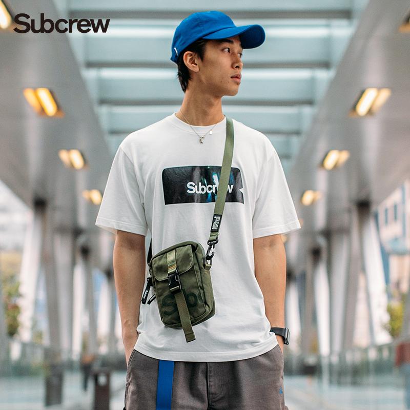 SubcrewLMS系列潮流小挂包国潮男女包潮牌小包证件包军事小物包