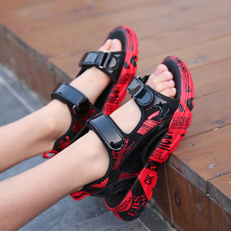 男童凉鞋2019新款夏季韩版中大童沙滩鞋软底儿童小学生时尚潮凉鞋优惠券