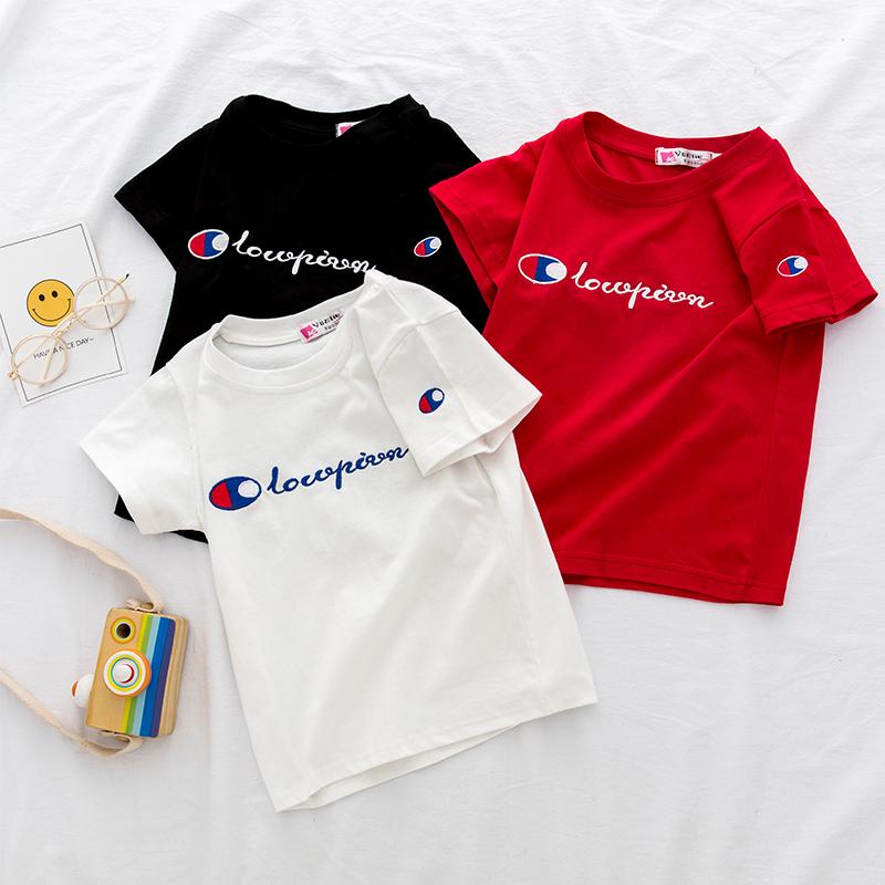童装男女童T恤短袖2020夏季新款儿童纯棉半袖上衣韩版潮中小童薄