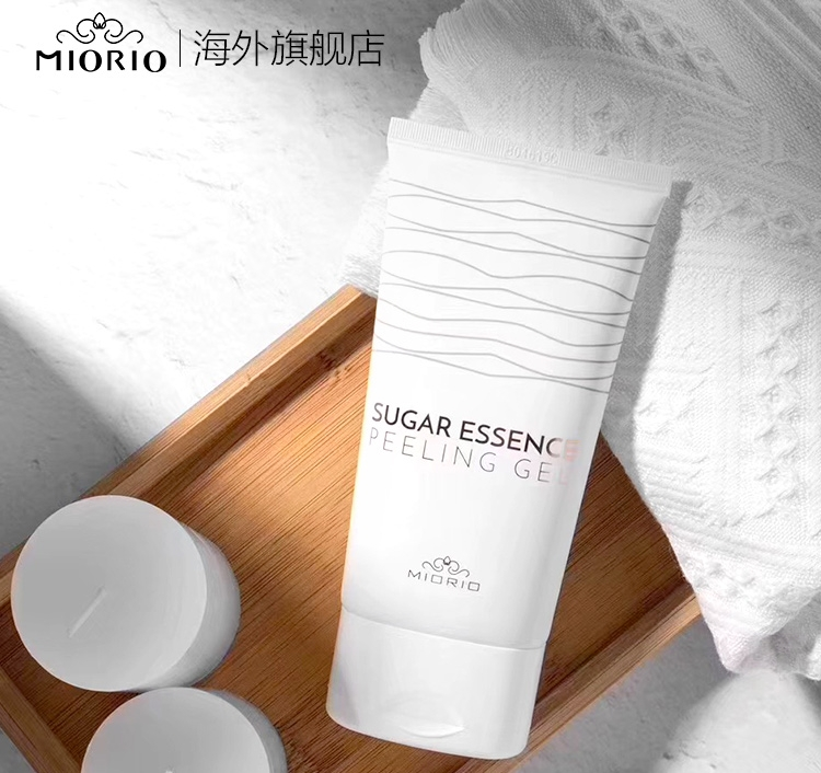 韩国MIORIO米澳拉温和去角质去死皮面部男女全身清洁毛孔黄糖凝胶