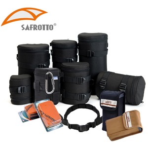Sifu SLR digital camera lens bag lens tube flash bag photography belt hundred fold cloth camera accessories