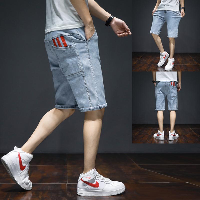 12青少年牛仔短裤男13大童夏季薄款14初中学生七分裤15岁五分裤子