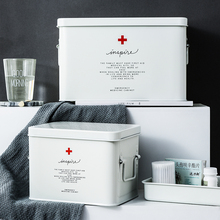 医药箱家xb1药箱收纳-w容量多层家庭急救箱医疗箱药箱收纳箱