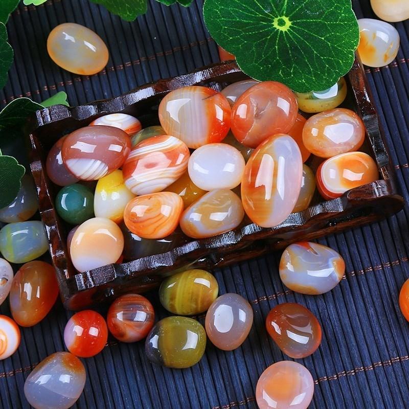 亏热卖南京雨花石鹅卵石原石天然石头花盆天然鱼缸彩石头彩