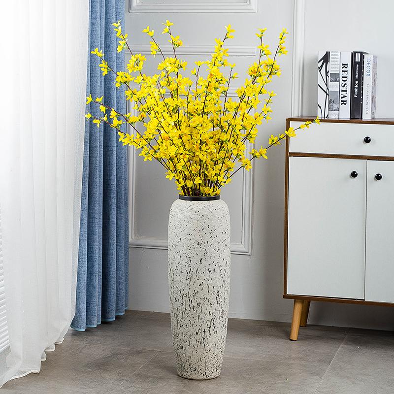 落地大号陶瓷花瓶干花装饰摆件家居客厅玄关现代简约欧式创意插花