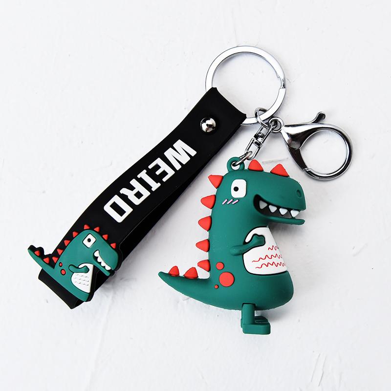 小恐龙公仔钥匙扣挂件男女士创意可爱ins网红汽车钥匙链 书包挂饰