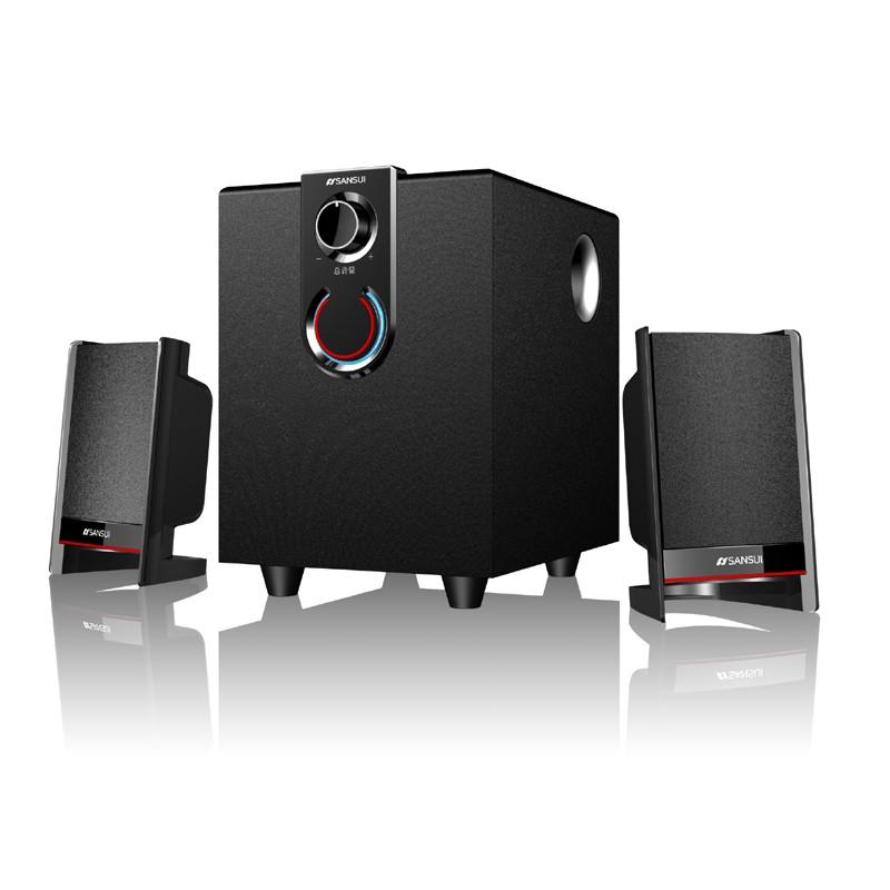 Sansui/山水 GS-6000(11A)多媒体有源音箱电脑音响影响低音炮