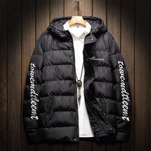 2018新款棉衣男冬季修身加厚保暖棉服棉袄韩版帅气冬装外套潮男衣
