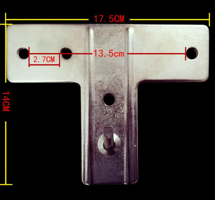 电热水器挂架品牌通用热水器架空心墙安装挂板安全辅助支撑架