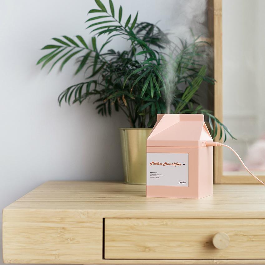 迷你加湿器便携式USB学生静音办公桌面小型家用 创意闺蜜生日礼物