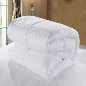 (Clearance: 200) Quilt Thick Winter Quilt Core Simple Wind Pure White Thin Quilt Summer Single Double Dormitory