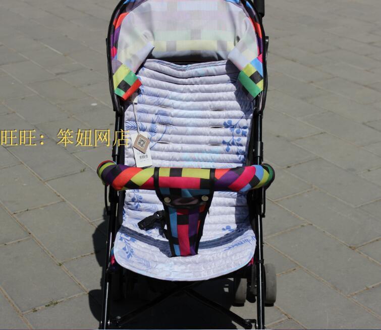 梦可儿蒙稷多功能婴儿推车垫 伞车推车席凉席婴幼儿 宝宝凉席包邮