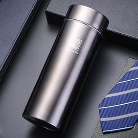 匡迪745号华象钛金304真空不锈钢保温杯商务直身杯子礼品定制logo