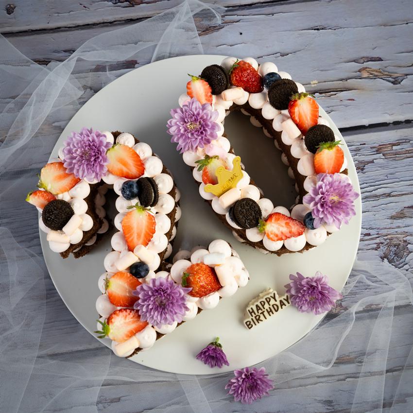 米帝欧-北京市同城配送新鲜生日蛋糕新鲜水果夹心网红数字鲜花满109元减5元