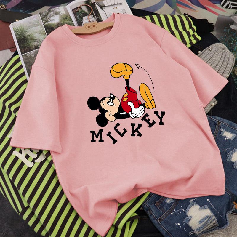 女童短袖t恤2020年夏季新款中大童纯棉韩版洋气时尚宽松半袖上衣