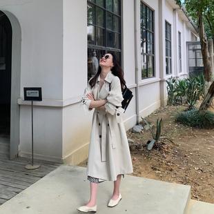樱夫人 三十而已 2020新款秋季风衣女中长款韩版宽松气质流行外套图片