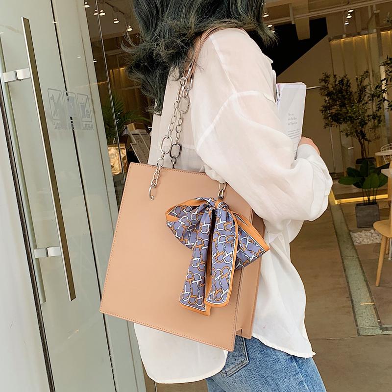 高级感包包洋气女包2019夏新款潮韩版质感斜挎包链条包时尚单肩包
