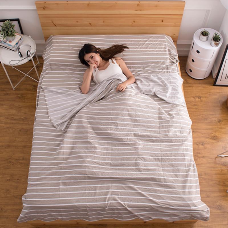 隔脏睡袋成人室内超轻便携旅游床单酒店宾馆户外双人纯棉旅行睡袋
