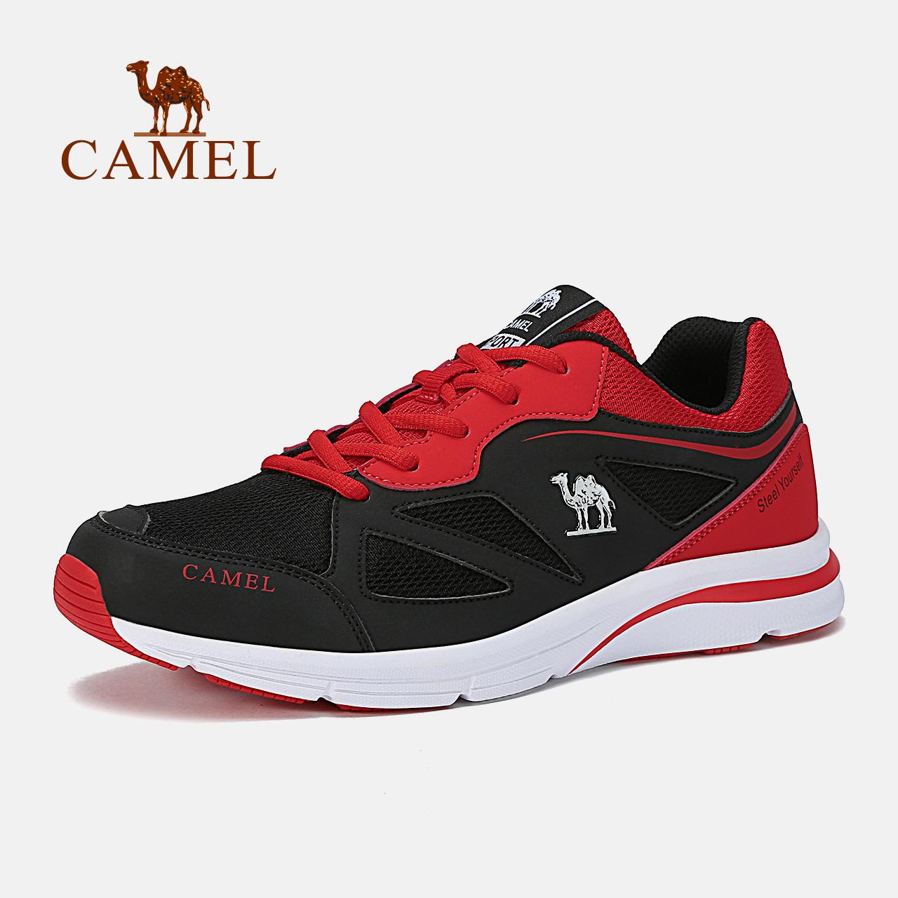 【热销9万】骆驼运动鞋女 轻便透气跑步鞋 减震耐磨跑鞋休闲鞋男