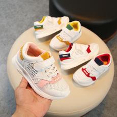 2018秋季新品网面儿童运动鞋 男童休闲跑步鞋 女童旅游鞋软底鞋