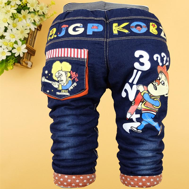 儿童冬季新款加棉长裤婴儿小童宝宝棉裤男童加厚保暖冬裤儿童裤子