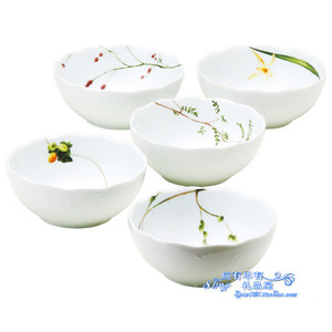 Japan imported authentic NARUMI Ming Hai tableware noodle bowl set ceramic kitchen supplies spot