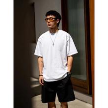 BDCdl0原创 新od短袖白色T恤男潮 日系潮牌圆领体恤宽松休闲