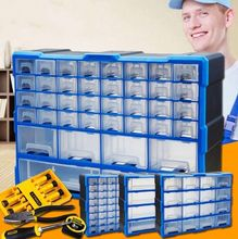 Nail type finishing combined repairman repair box mobile phone parts plastic storage drawer box large size