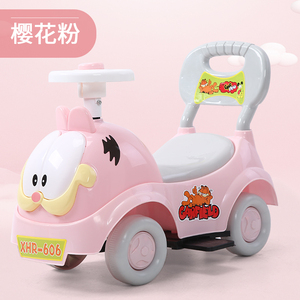 Children's twisting car yo-yo baby scooter 1-3 year old male and female toy car with music walker