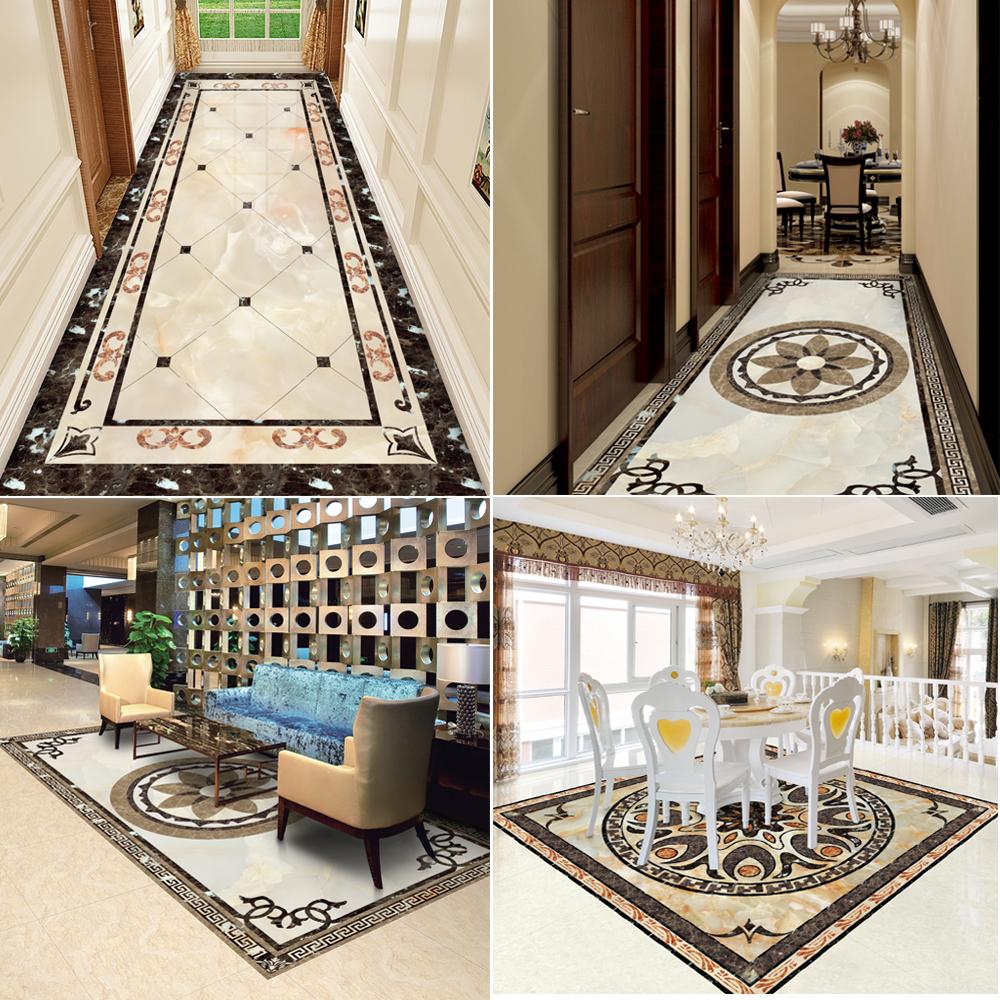 客厅地砖地板自粘茶几贴纸餐厅地面走廊过道防水防滑加厚耐磨贴纸