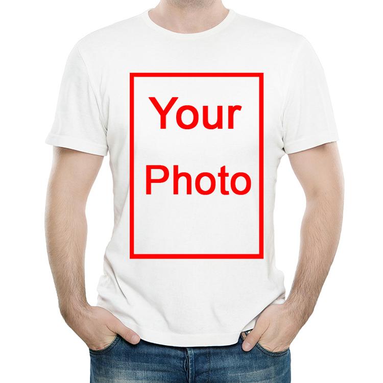 DIY T-shirt 男女 订制 A3大小 T恤 白色短袖 个性图案 T恤 男女
