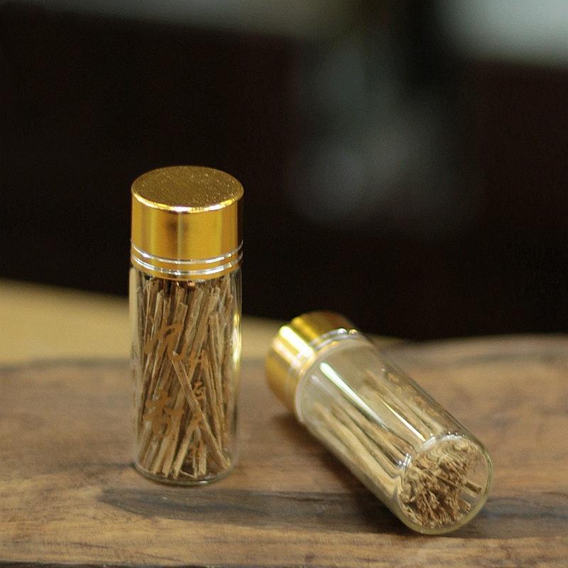 天然越南芽庄沉香条插烟丝戒烟香烟伴侣散装4a5a级烟片自用送铜针