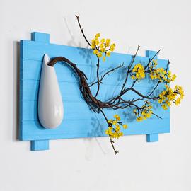 新中式客厅玄关禅意装饰挂件壁挂墙壁创意饰品现代简约实木壁饰
