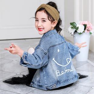 女童外套春 2019新款韩版潮