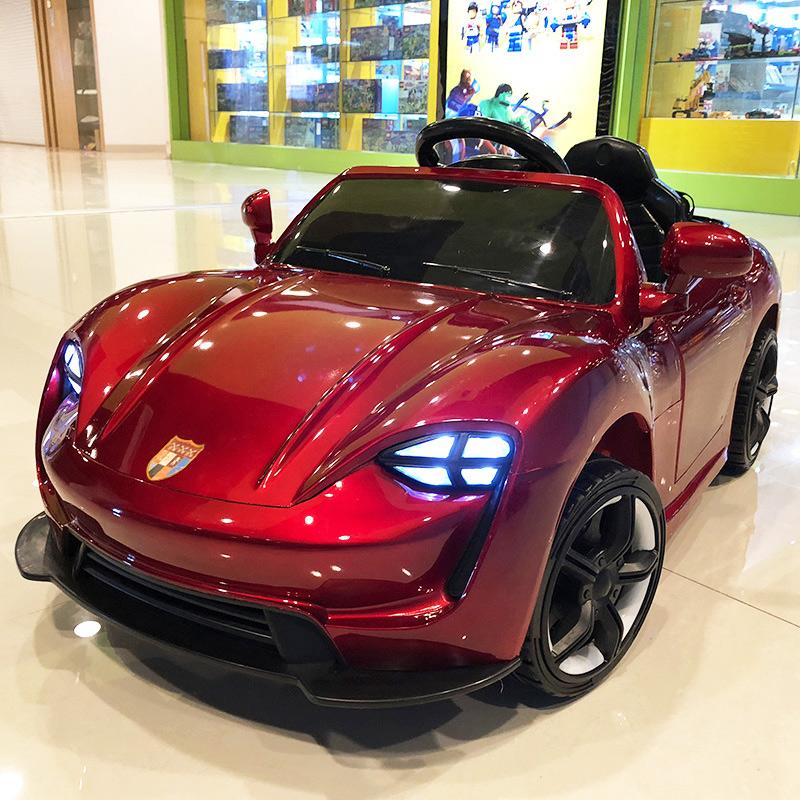 婴儿 电动车 四轮 遥控 汽车 摇摆 童车 宝宝 玩具车