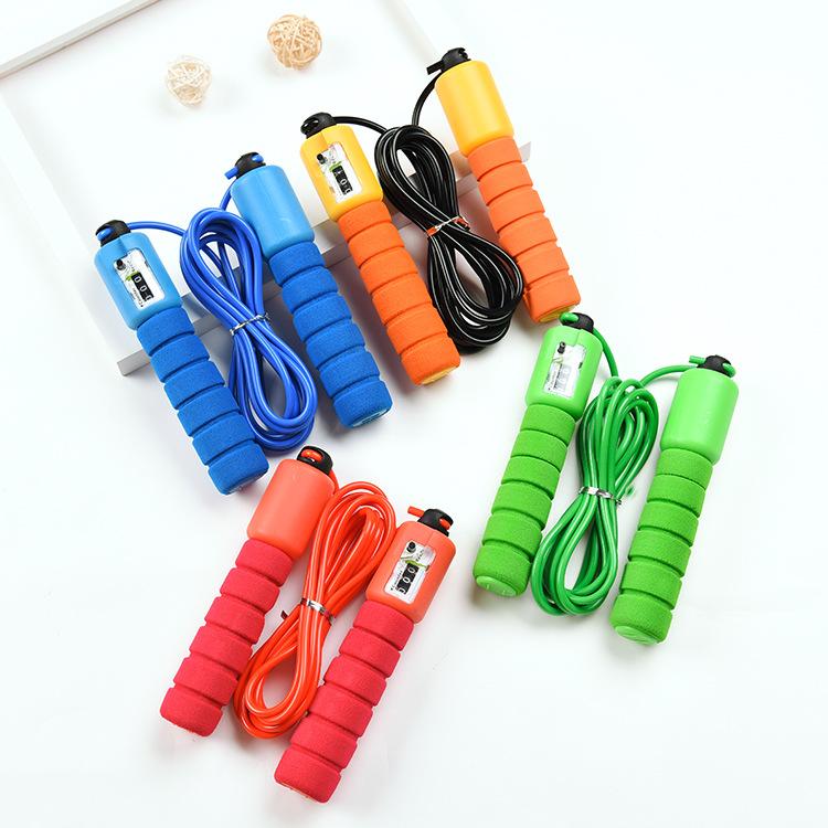 专业电子计数跳绳成人花样跳绳绳子学生中考健身跳绳