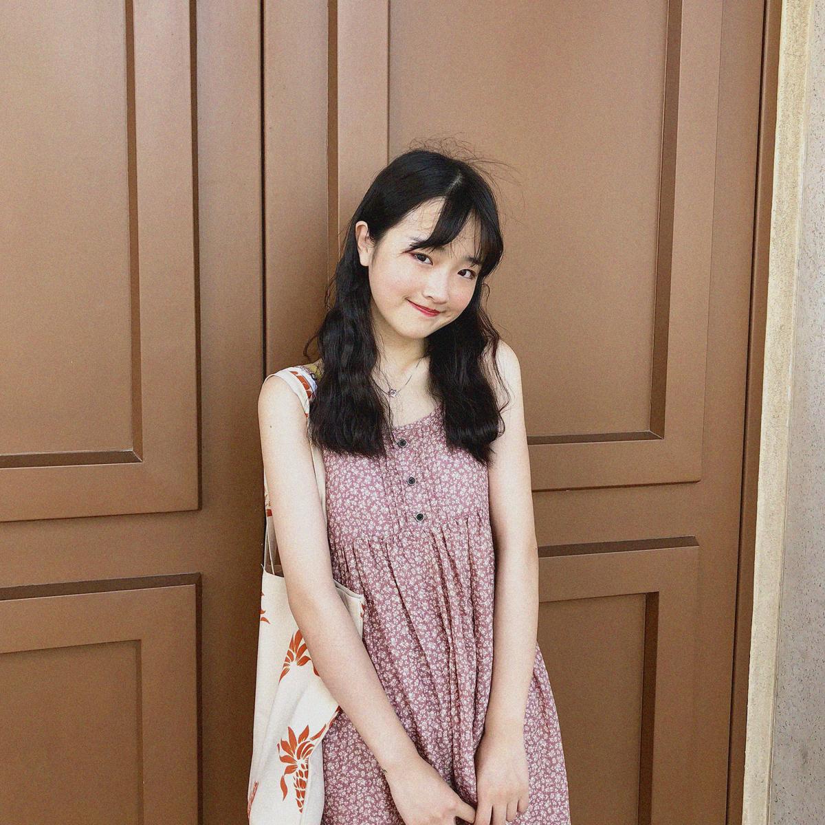 YUKI小树家 小碎花可爱苎麻吊带连衣裙短裙韩国东大门新款 q0713
