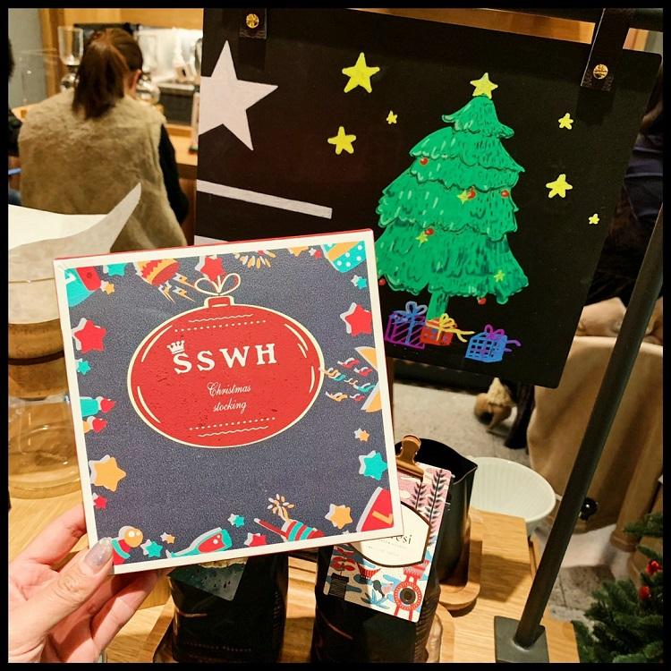 圣诞袜子女礼盒装礼物可爱日系秋冬季加厚睡眠棉袜地板中筒袜
