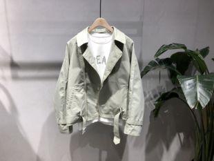 2020春季新款韩版男装短款工装夹克外套潮牌港风休闲原创设计单农