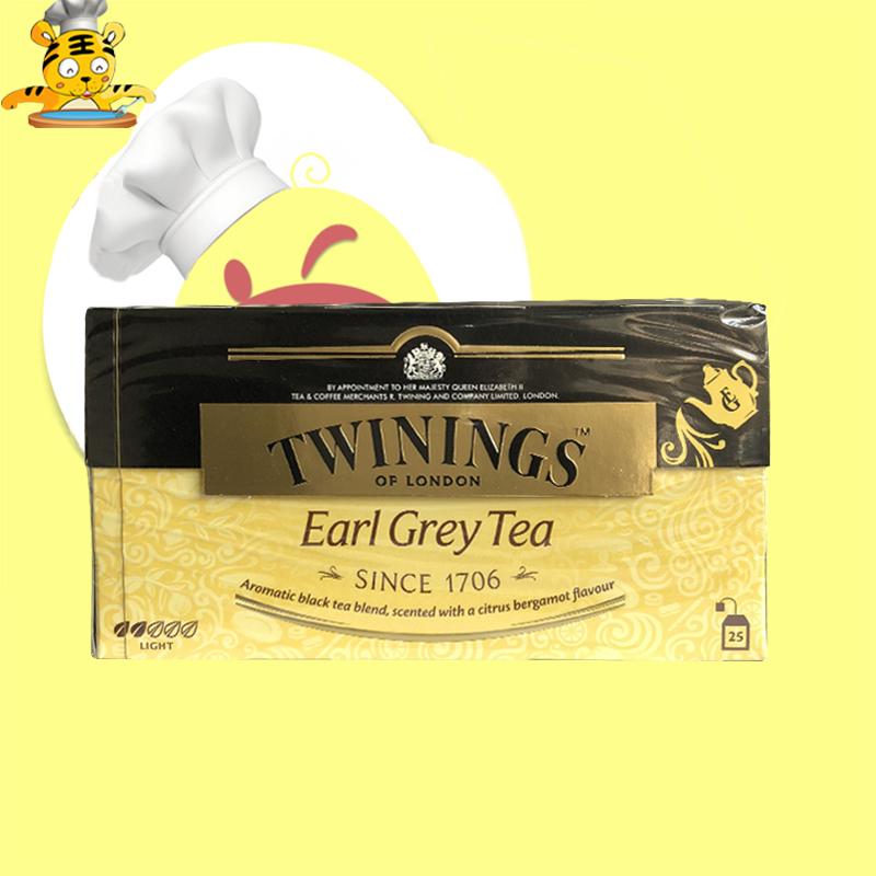 川宁豪门伯爵茶50g 袋泡茶25包 英式红茶下午茶 英伦风味茶叶饮料
