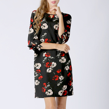 肥mm台湾新式连衣裙yi7质古风女in扣店春装2020年 洋气长裙