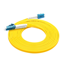 Indoor single-mode optical fiber jumper LC-LC SC FC st telecommunication grade two core 3M pigtail optical jumper 10m can be customized