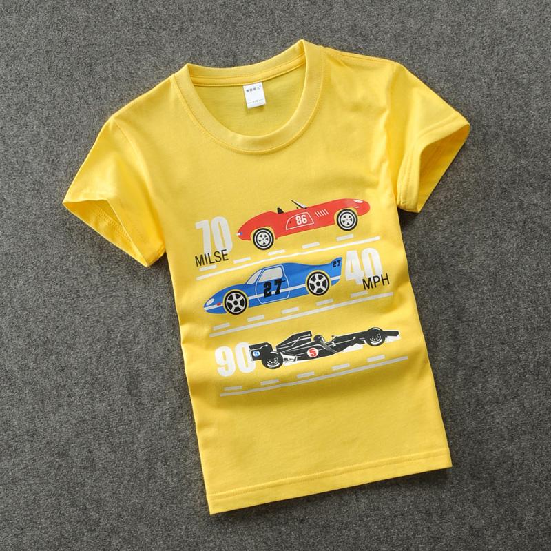 男童短袖t恤2018夏装新款儿童3-15岁中大童春夏纯棉上衣男孩半袖