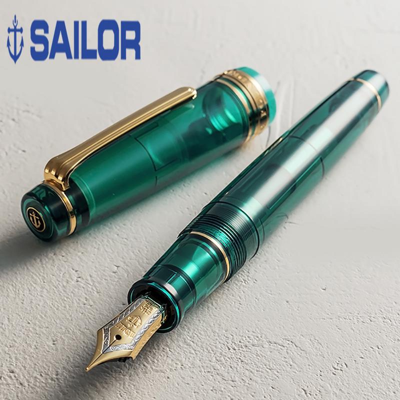 一航 写乐 SAILOR 马尔代夫 大型 21K 金笔 双色尖 钢笔