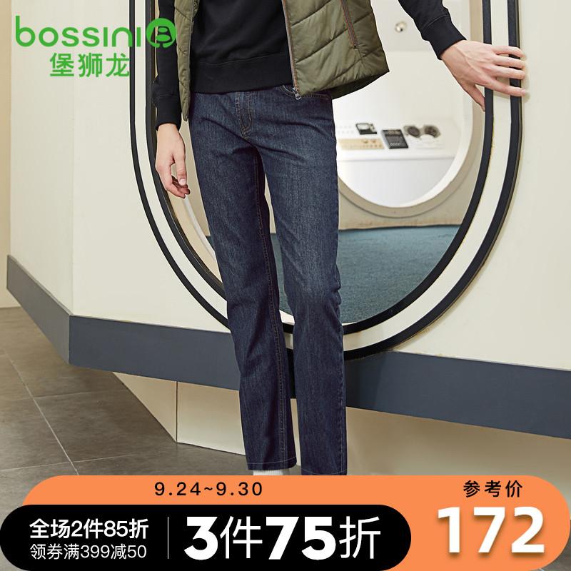 堡狮龙秋季男装休闲裤直筒牛仔裤男士牛仔长裤男514102040