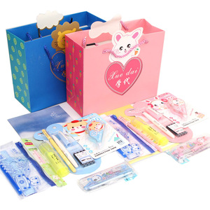 Student stationery set / gift box senior junior high school student daily elementary school supplies set combination wholesale