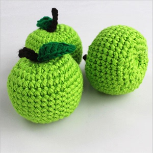 Children's studio photography yarn props simulation fruits and vegetables children's wool toys home decoration simulatio